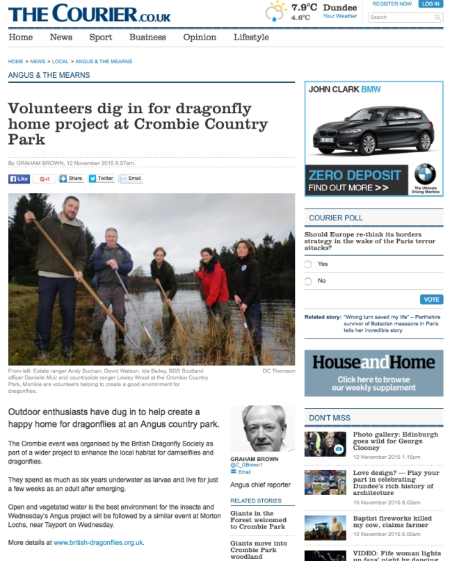 Crombie country park-2015-nov